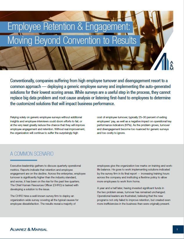 Employee Retention & Engagement: Moving Beyond Convention to
