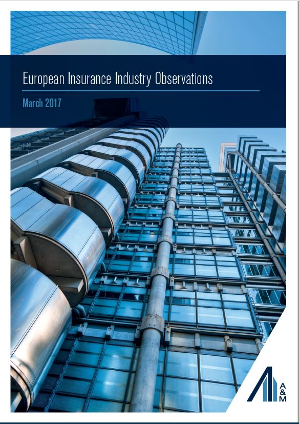 Transaction Advisory Services | European Insurance Industry Observations