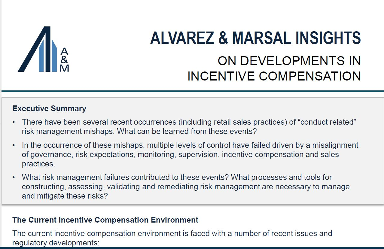 Financial Advisory Consulting | Incentive Compensation