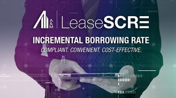 LeaseSCRE - Estimate Your Incremental Borrowing Rate