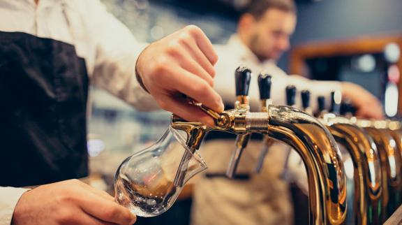 Rapid cost reduction for a global brewing company
